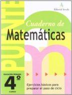 matemáticas           ( educación primaria 4º ) rosa maria martin fuster 9788478874118
