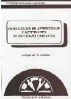 dificultades de aprendizaje y actividades de refuerzo educativo-antonio valles arandiga-9788479860318