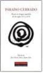 paraiso cerrado: poesia en la lengua española de los siglos xvi y xvii jaime siles jose maria mico 9788481094718