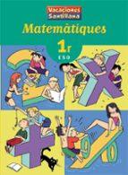 vacances matematiques (1º eso)-9788484356318