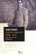 dies de memoria 1938 1940: diari d un mestre adolescent joan triadu 9788484373018