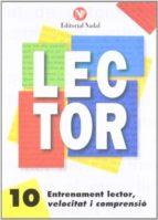 entrenament lector, velocitat i comprensió nº 10 lletra d´imprent a c.m. 9788486545918