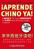 aprende chino ya! + cd wang xin 9788494179518