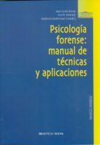 psicologia forense: manual de tecnicas 9788497424318