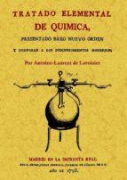 tratado elemental de quimica antoine laurent de lavoisier 9788497615518