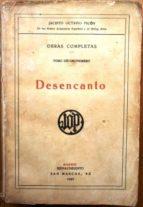 El libro de Desencanto autor JACINTO OCTAVIO PICON TXT!