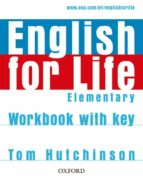 english for life elementary: workbook with key 9780194307628