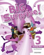 big surprise 3ºprimaria ab+mrom pk  ed 2013-9780194516228