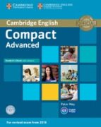 compact advanced student s book with answers with cd-rom-9781107418028