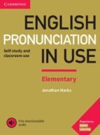 english pronunciation in use elementary book with answers and downloadable audio 9781108403528
