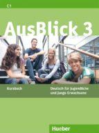 ausblick. kursbuch. per le scuole superiori: ausblick.3.kursbuch 9783190018628