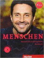menschen a2.1 kursbuch mit dvd charlotte habersack angela pude franz specht 9783197219028