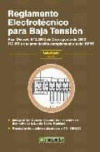 reglamento electrotecnico para baja tension 9788426714428