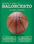 aprende a jugar al baloncesto 9788428541428