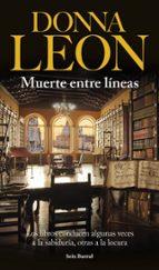 muerte entre lineas donna leon 9788432222528