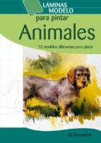 animales (laminas modelo para pintar) 9788434238428