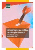 comportamiento politico y sociologia electoral irene delgado sotillos lourdes lopez nieto 9788436264128
