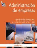 administracion de empresas gonzalo sanchez vizcaino 9788436825428