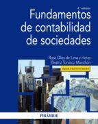 fundamentos de contabilidad de sociedades (ebook) rosa olias de lima y heras beatriz torvisco manchon 9788436837728