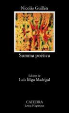 summa poetica (6ª ed.) nicolas guillen 9788437600628