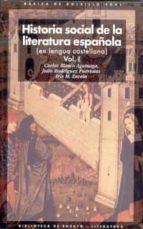 historia social de la literatura española carlos blanco aguinaga iris m. zavala julio rodriguez puertolas 9788446012528