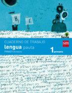 cuaderno de lengua, pauta 1º primaria, 1er trimestre. savia-9788467570328