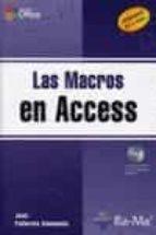 las macros en access: versiones 97 a 2007 joan pallerola comamala 9788478978328