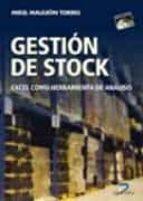 gestion de stock: excel como herramienta de analis mikel mauleon 9788479788728