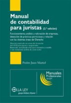 manual de contabilidad para juristas (ebook)-pedro juez martel-9788481269628