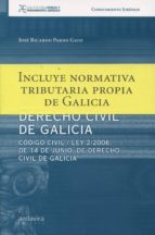 derecho civil de galicia jose ricardo pardo gato 9788484088028