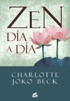 zen día a día-charlotte joko beck-9788484454328
