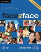 face2face for spanish speakers second edition packs pre-intermediate pack (student s book with dvd-rom, spanish      speakers handbook with cd, workbook with key)-9788490363928