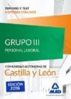 grupo 3 p-laboral temario-test comun castilla-leon-9788490939628