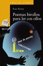 poemas birollos para ler cos ollos fran alonso 9788491210528