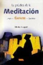 la practica de la meditacion: jyoti, gayatri, so ham michel coquet 9788496166028