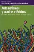 automatismos y cuadros electricos 9788496334328