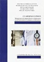 cuaderno clínico: manual para la adquisición de competencias en el prácticum de graduado en enfermeria-jose miguel morales asencio-9788497474528