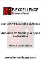 APOLONIO DE RODAS Y LA ÉPICA HELENÍSTICA