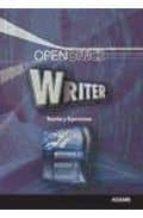 WRITER. TEORIA Y EJERCICIOS (OPEN OFFICCE)