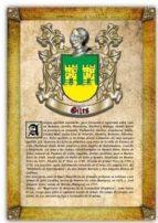 apellido giles / origen, historia y heráldica de los linajes y apellidos españoles e hispanoamericanos (ebook) antonio tapia cdlhf00015628