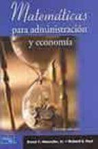 matematicas para administracion y economia (10ª ed.)-ernest f. haeussler-richard s. paul-9789702603832