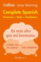 easy learning complete spanish grammar, verbs and vocabulary (3 books in 1) (2nd ed.) 9780008141738