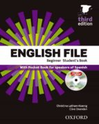 english file beginner student s book+workbook without key pack 3rd ed 9780194501538