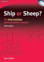 ship or sheep?: an intermediate pronunciation course (face2face) (book and audio cd packs)(3rd ed.)-ann baker-9780521606738