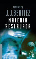 materia reservada-j.j. benitez