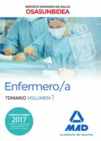 enfermero/a del servicio navarro de salud-osasunbidea. temario volumen 1-9788414213438