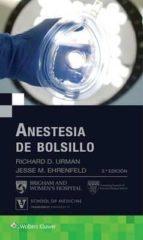 anestesia de bolsillo 9788416781638