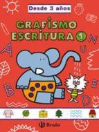 grafismo y escritura 1 (desde 3 años): grades cuadernos 9788421659038