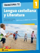 vacaciones 10. lengua castellana y literatura 1 eso-9788421853238