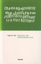 manual de grafoanalisis augusto vels 9788425421938